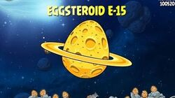 Angry Birds Space E-15 Beak Impact Golden Eggsteroid Egg 15 Deep Impact Walkthrough 3 star-2