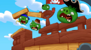 ANGRY BIRDS GO ANIMATION PIGGIES PIRATES