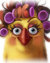 Flocker Yellow Portrait 042
