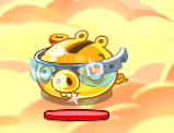 Golden Pig w okularach