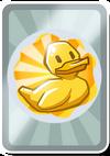 Золотая уточка