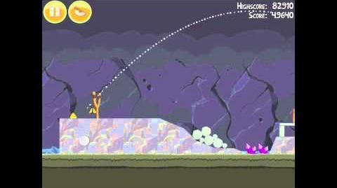 Angry Birds 17-13 Mine & Dine 3 Star Walkthrough