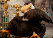 The Angry Birds Movie Mighty Eagle With Sardines