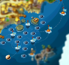 Восточное море на карте