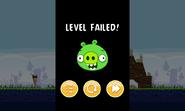 Angry Birds - проигрыш