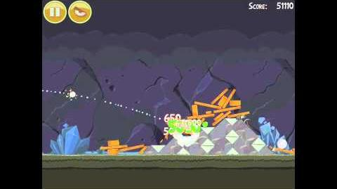Angry Birds 17-8 Mine & Dine 3 Star Walkthrough