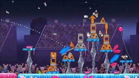 Official Angry Birds Rio Walkthrough Carnival Upheaval 7-3