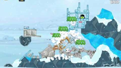 Hoth 3-8 (Angry Birds Star Wars)/Video Walkthrough