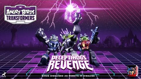 Angry Birds Transformers Deceptihogs Revenge – New update!