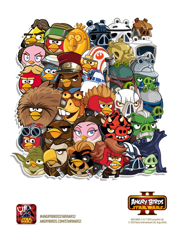 Angry Birds Star Wars II All Characters