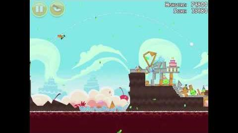 Angry Birds Birdday Party 18-10 Walkthrough 3 Star Birthday Party