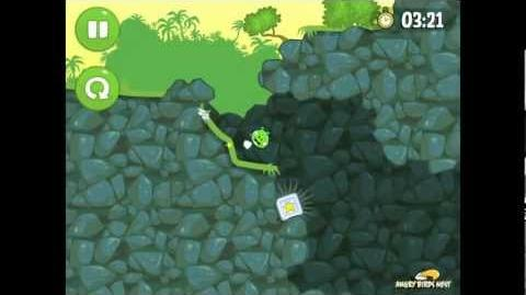 Bad Piggies Ground Hog Day 1-4 Walkthrough 3 Star