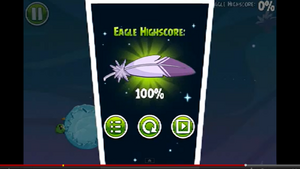 Highscore space eagle