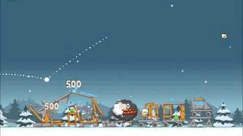 Official Angry Birds Seasons Walkthrough Season's Greedings 1-24