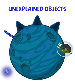 Unexplained Objects Space 2