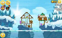 Лыжи сизонс уровень 9