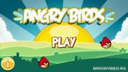 Меню Angry Birds PSP