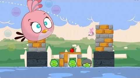 Angry Birds Back To School w New Pink Bird!