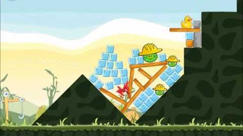 Official Angry Birds Walkthrough The Big Setup 9-8
