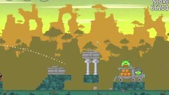 Angry Birds 23-12 Bad Piggies 3 Star Walkthrough (Angry Birds Classic 23-12)
