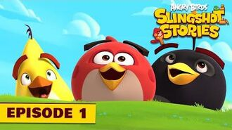 Angry Birds Slingshot Stories Ep. 1 First Level Ever!