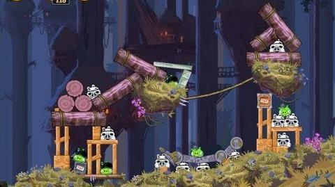Moon of Endor 5-13 (Angry Birds Star Wars)/Video Walkthrough