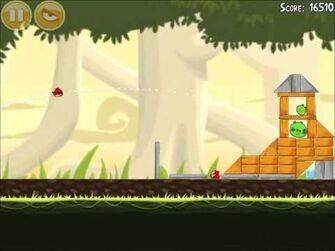 Official Angry Birds Walkthrough Danger Above 6-1