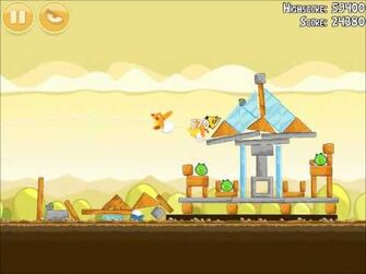 Official Angry Birds Walkthrough Mighty Hoax 5-9