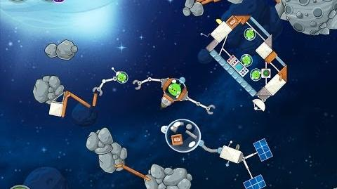 Angry Birds Space Beak Impact 8-16 Walkthrough 3 Star