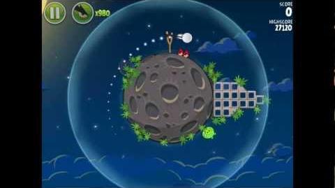 Angry Birds Space Pig Bang 1-3 Space Eagle Walkthrough