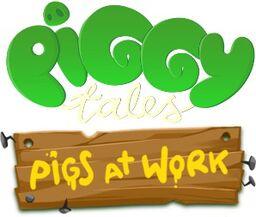Piggy Tales- Pigs at Work Logo