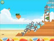 Official Angry Birds Rio Walkthrough Beach Volley 6-7