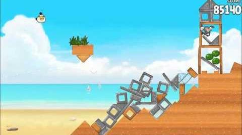 Official Angry Birds Rio Walkthrough Beach Volley 6-7