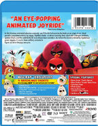 Angry Birds Movie BD Back Cover