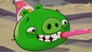 Свин в ужасе