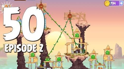 Angry Birds Stella Level 50 Episode 2 Beach Day Walkthrough
