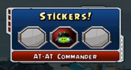 AT-AT Commander Sticker