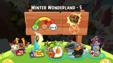 Angry Birds Epic Winter Wonderland Level 5 Walkthrough