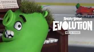 Angry Birds Evolution - Let's play hockey!