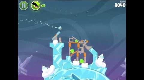 Angry Birds Space Cold Cuts 2-10 Walkthrough 3-star