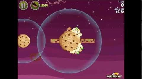 Angry Birds Space Utopia 4-12 Walkthrough 3-Star
