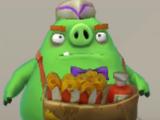 Продавец закусок