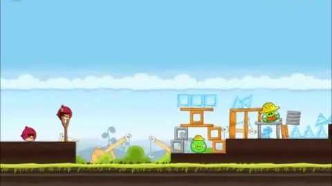 Official Angry Birds Walkthrough The Big Setup 10-8