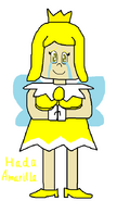 Proyecto Humano - Sprixie Princess (Yellow) de Super Mario 3D World