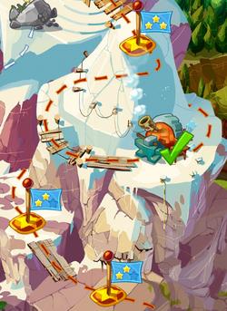 Небесные острова на карте