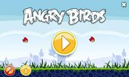 Angry birds mult main menu