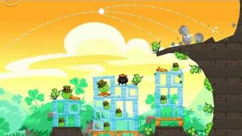 Angry Birds Seasons - Go Green, Get Lucky Gameplay Trailer