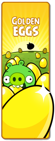 Golden Eggs Icon