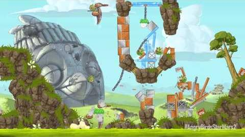 NEW! Angry Birds Star Wars 2 Battle of Naboo update gameplay trailer