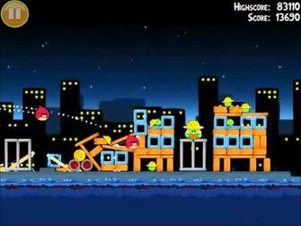 Official Angry Birds Walkthrough The Big Setup 11-12